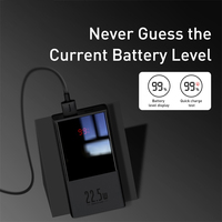 Baseus Power Bank 10000mAh / 20000mAh USB C PD Fast Charging Powerbank Portable External Battery Charger With LED Display