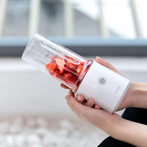 Image 2 - Соковыжималка для фруктов Youpin Pinlo, 350 мл, портативная, USB, перезаряжаемая, чашка для извлечения сока, кухонная машина, мини, домашняя, уличная
