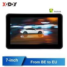 Xgody GPS Android 7 inç navigasyon araba Gps navigasyon kamyon Bluetooth ile kamera Sat Nav 2020 amerika avrupa harita dokunmatik ekran