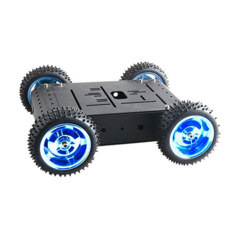 4wd inteligente rc carro chassi modelo com 01