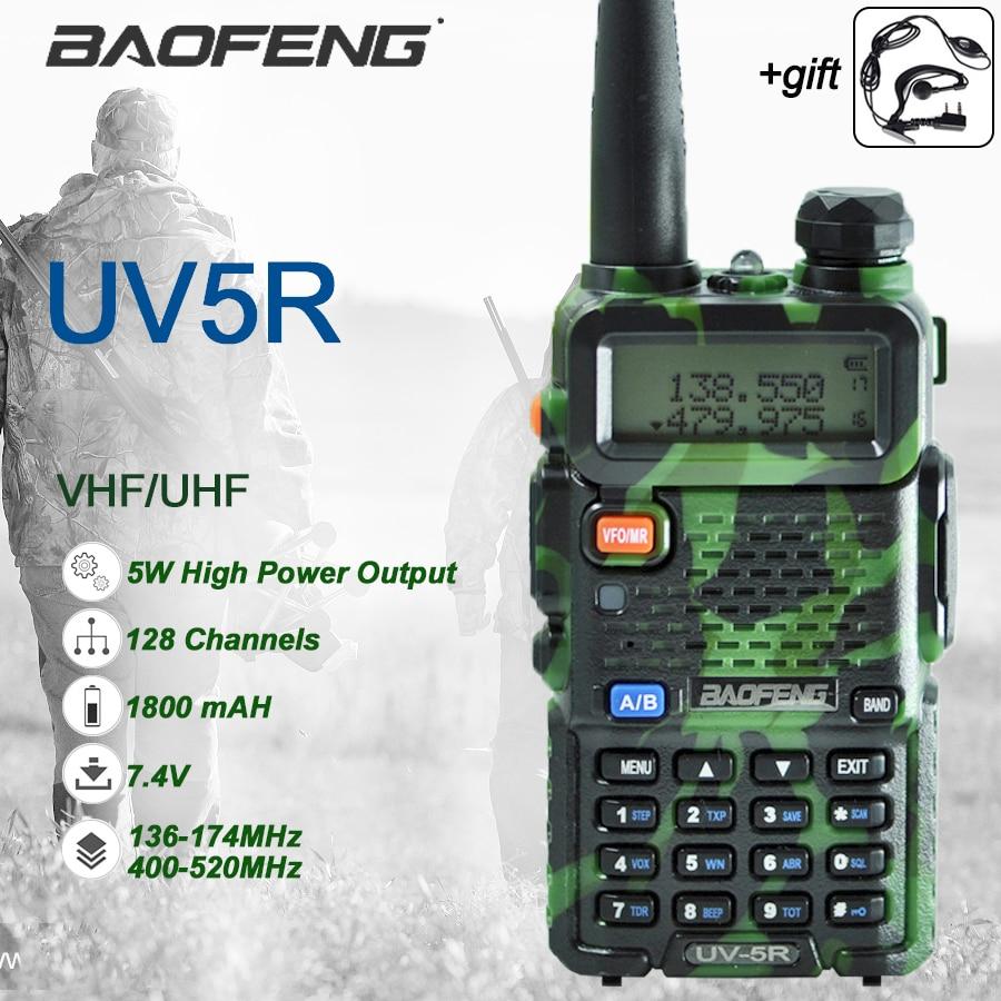 Прямая поставка с завода, оригинальная рация, двусторонняя радиосвязь Baofeng UV-5R UV5R, охота