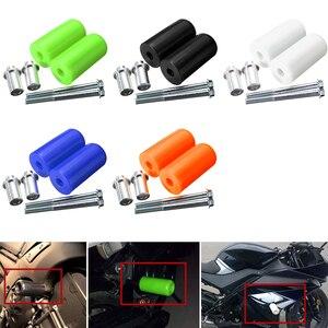 Image 4 - Motosiklet çerçeve kaydırıcılar Anti Crash koruyucu Yamaha evrensel