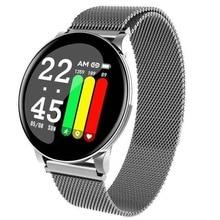 2019 Smart Watch Men Women Heart Rate Monitor Weather Forecast Fitness Bracelet Blood Oxygen Pressure Sport Band VS S9