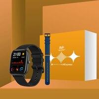 Version mondiale Amazfit GTS montre intelligente 5ATM étanche natation Smartwatch nouveau 14 jours batterie contrôle de la musique pour Xiaomi IOS téléphone