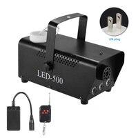 Light Smoke Multi color Portable Stage Remote Control Fog Machine RGB Party Wireless