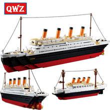 Набор строительных блоков серия кино Титаник rms круизный лайнер