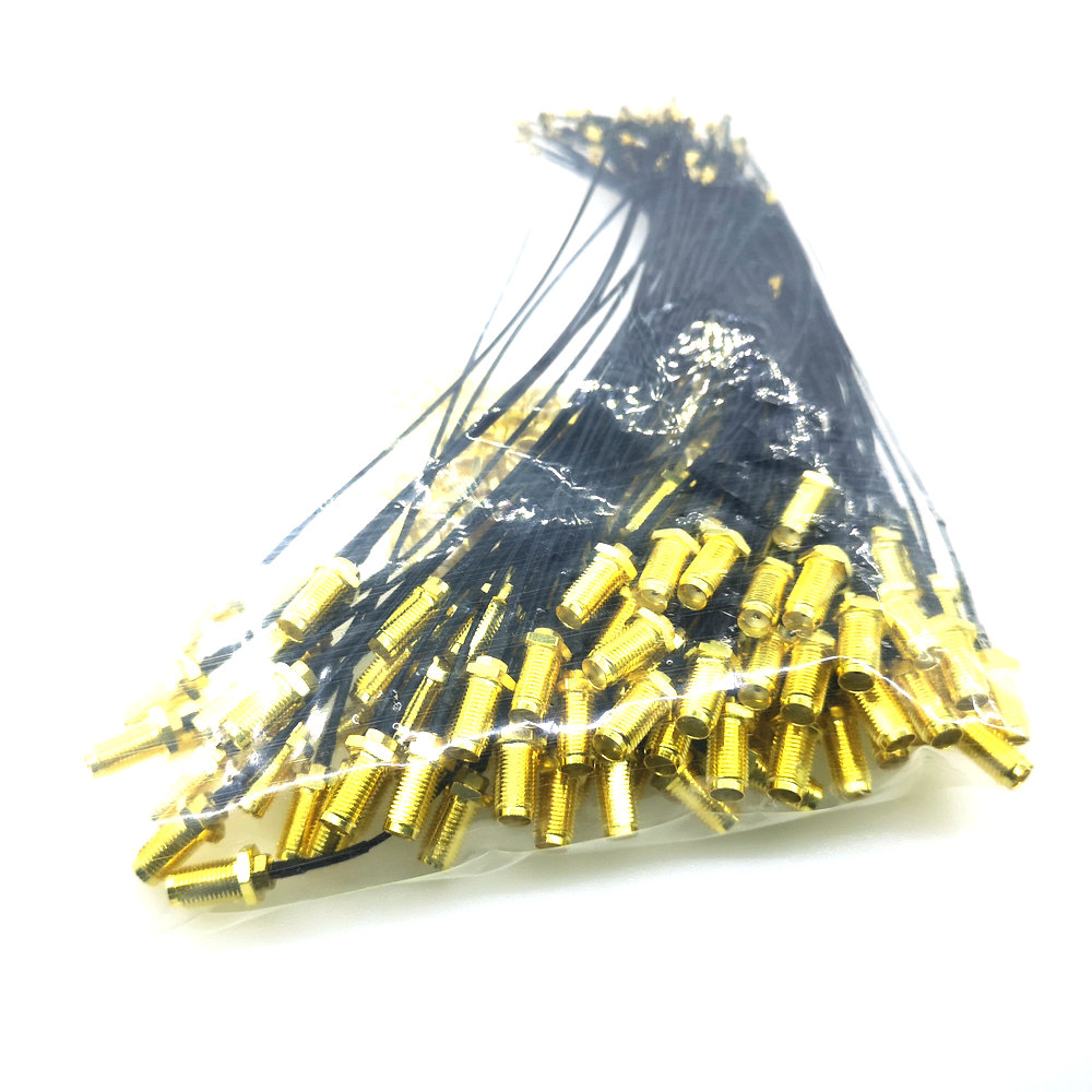 Image 3 - 100PCS RF SMA Connector Cable Female to uFL/u.FL/IPX/IPEX RF Or NO Connector Coax Adapter Assembly Pigtail Cable 1.13mm-in Integrated Circuits from Electronic Components & Supplies