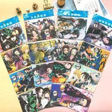 30 pçs demônio slayer bonito kamado tanjirou cosplay puzzle artigos de papelaria puzzle jardim de infância das crianças brinquedo extravagante pequeno presente