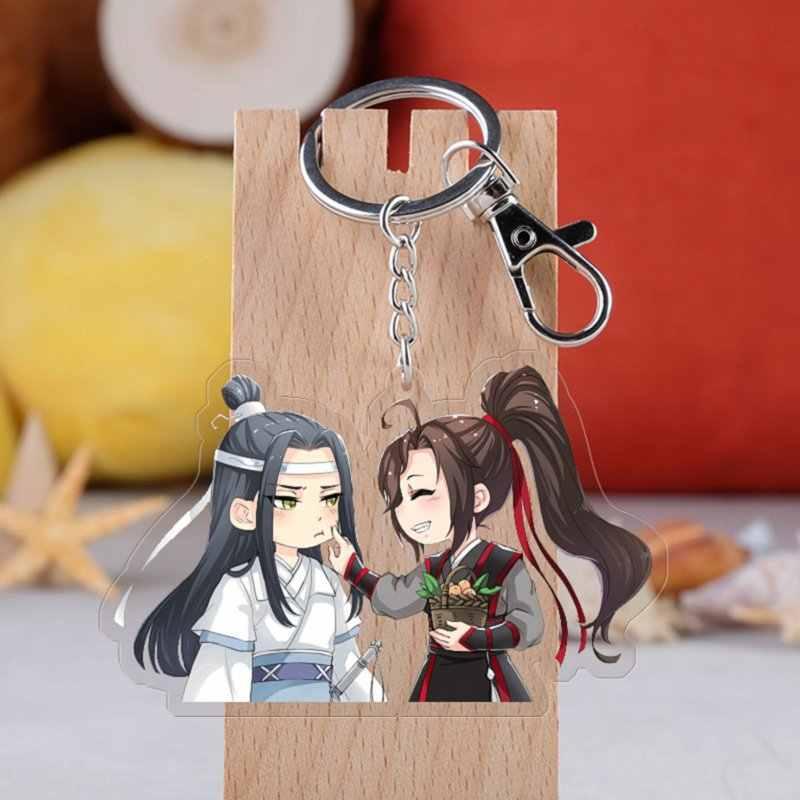 Anime Mo Dao Zu Shi Sleutelhanger Cartoon Figuur Acryl Tassen Hangers Sleutelhanger