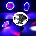 1 шт. 125 Вт Водонепроницаемый светодиодный фонарь для мотоцикла 3000LMW U7 светодиодный противотуманный прожектор для вождения