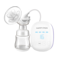 Smart Chargeable Lithium Portable Electric Breast Pump Large Suction 16 File Mute Automatic Breast Pump