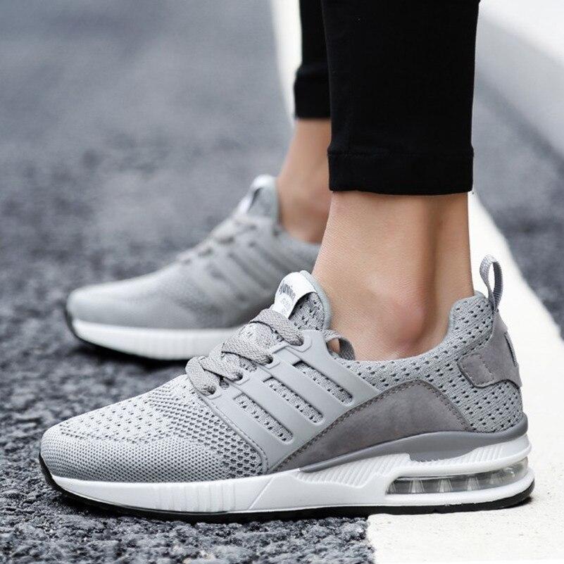 Image 5 - Flarut Men Tennis Shoes Air Cushion Lace Up Men Sport Shoes Breathable Mesh Sneakers Black Tenis Hombre Trainers Athletic ShoesTennis Shoes   -