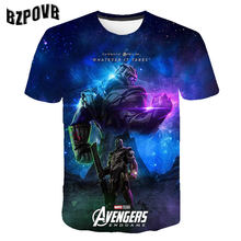 2019 New fashion design t shirt men/women Avengers Endgame 3D print t-shirts Short sleeve Harajuku style tshirt tops S 6XL(China)