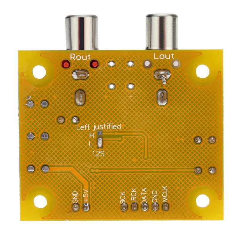 Dac セイバー Es9023 アナログ I2S 24 ビット 192 デコーダボードラズベリーパイ