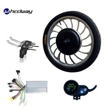 20 pulgadas 36V48V1000W Kit de rueda de Motor eléctrico controlador LCD Pantalla...
