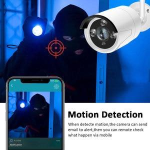 Image 4 - 1080p nvr cctv kit wifi sistema de câmera ip câmera sistema de segurança ao ar livre conjunto vigilância por vídeo