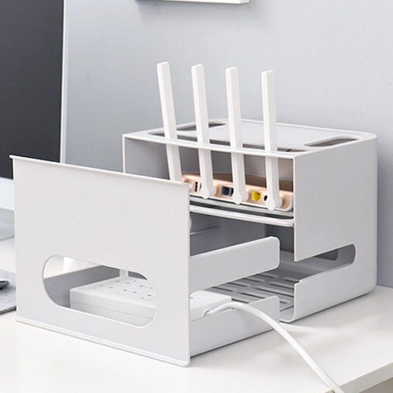 1-Двухслойный ящик типа беспроводной WIFI маршрутизатор коробка для хранения штепсельная плата кронштейн Кабельный органайзер для хранения смотреть на Алиэкспресс Иркутск в рублях