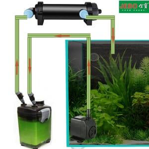 Image 5 - УФ лампа JEBO для стерилизации воды в аквариуме