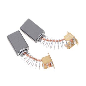 2 sztuk 15X10X6mm Mini wiertarka części zamienne do szlifierki elektrycznej części zamienne do szczotek węglowych do silniki elektryczne narzędzia obrotowe tanie i dobre opinie Carbon Brushes
