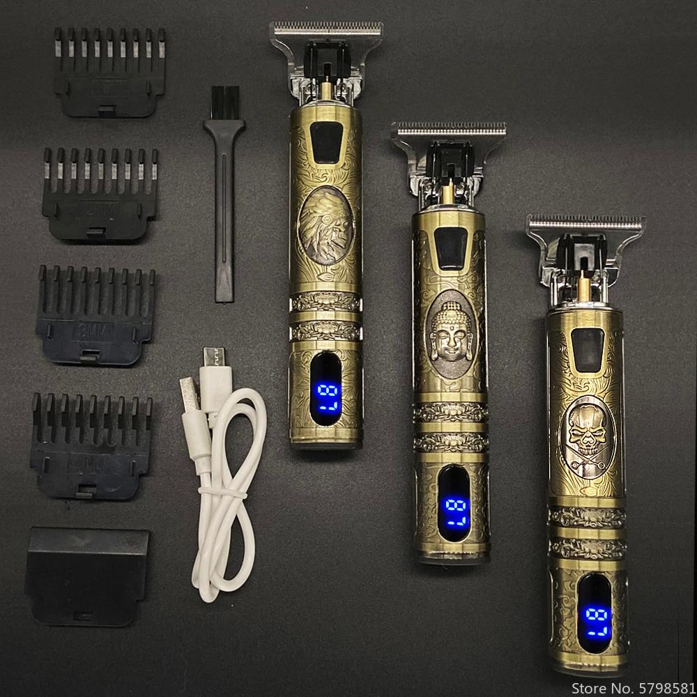 Electric Hair Clipper Rechargeable Shaver Beard Trimmer Professional Men Hair Cutting Machine Beard Barber Hair Cut