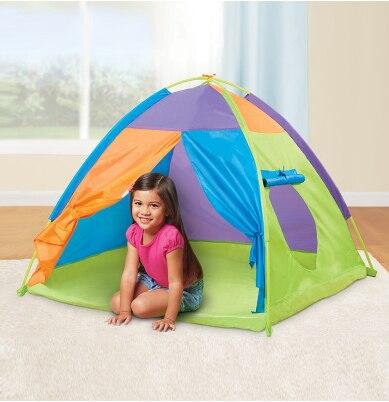 Enfants jouer tente balle piscine tente garçon fille princesse château Portable intérieur extérieur bébé jouer tentes maison cabane pour enfants jouets