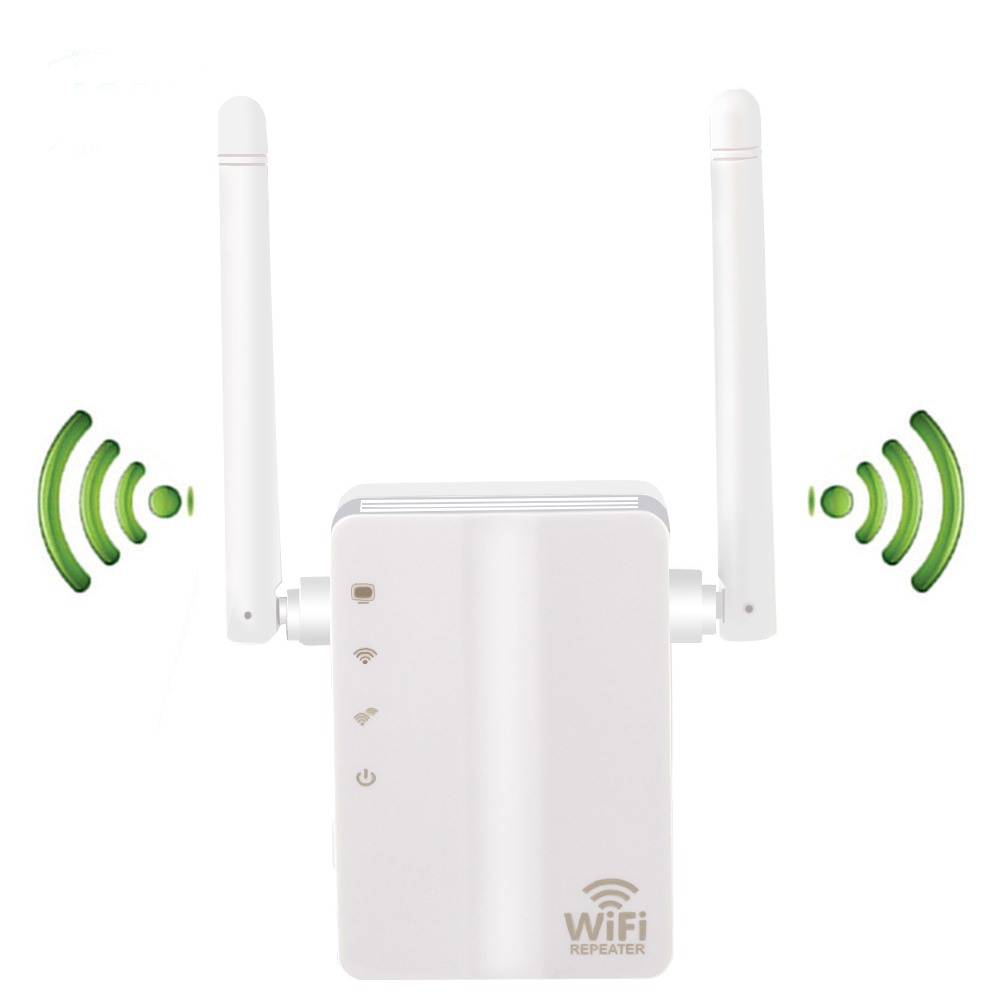 Wireless Wifi Router 300M 2.4G WIFI Repeater With External Antennas Wider Coverage, 300Mbps Wi-Fi Amplifier Wifi Router Antenna