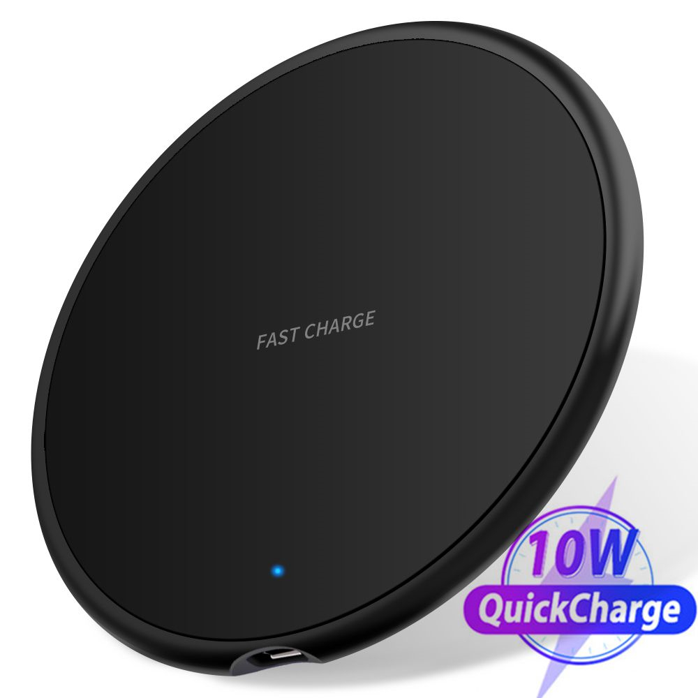 18W Fast Wireless <font><b>Charger</b></font> For Samsung <font><b>Galaxy</b></font> S10 <font><b>S9</b></font>/<font><b>S9</b></font>+ S8 Note 9 USB Qi Charging Pad for iPhone 11 Pro XS Max XR X 8 Plus image