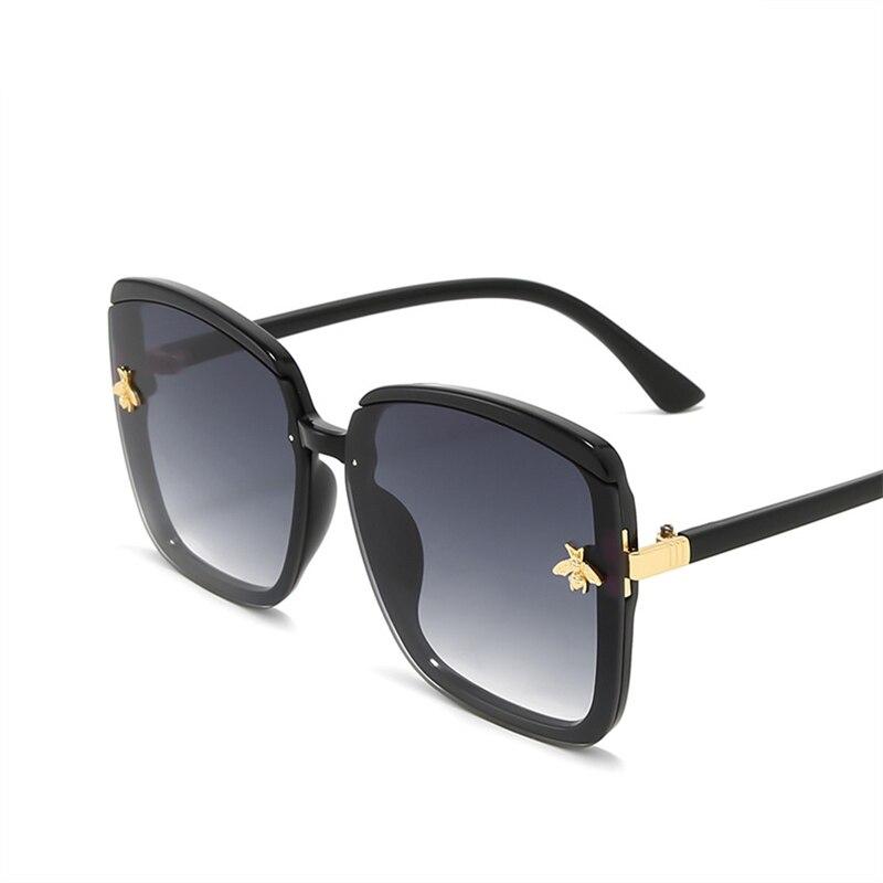 Новинка 2020, женские солнцезащитные очки ASOUZ с маленькой Пчелкой, классические модные брендовые солнцезащитные очки в стиле ретро, спортивны...