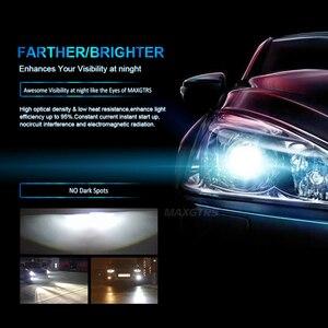 Image 4 - MAXGTRS H1 H4 Hi/Lo wiązka H7 H8 H11 9005 HB3 9004 H27 880 881 żarówki LED do reflektorów samochodowych 80W CSP LED reflektor samochodowy przeciwmgielne przednie światła