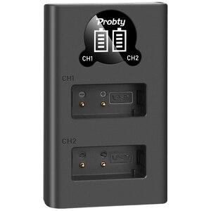 Image 5 - 1800 MAh LPE17 LP E17 LP E17 Pin + Tặng Đèn LED USB Sạc Đôi Cho Canon EOS 200D M3 M6 750D 760D t6i T6s 800D 8000D Kiss X8i Máy Ảnh