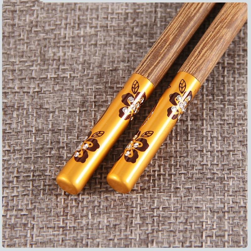 6 пар новых домашних высококачественных дешевых деревянных бамбуковых