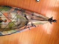 Embarcações de Fibra de Vidro de Nylon prémio Marinha Barco de Pesca Caiaque Canoa Leme