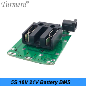 Image 2 - 5S 18v 21v 20A 18650 Li ion Lithium Battery BMS for Screwdriver Shura Charger Protection Board fit for Turmera