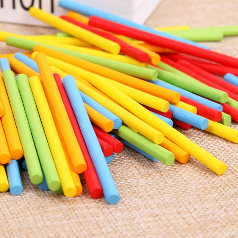 Set von 100 Bunte Zählen Zentimeter Würfel Mathematik Spielzeug Werkzeug Kinde