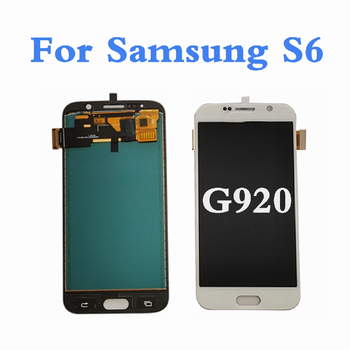 TFT For SAMSUNG S6 G920F LCD Display Screen Touch Panel Digitizer For Samsung S6 G920 Display Screen For Samsung Galaxy S6 LCD lcd screen display panel for chimei innolux 8inch g080y1 t01