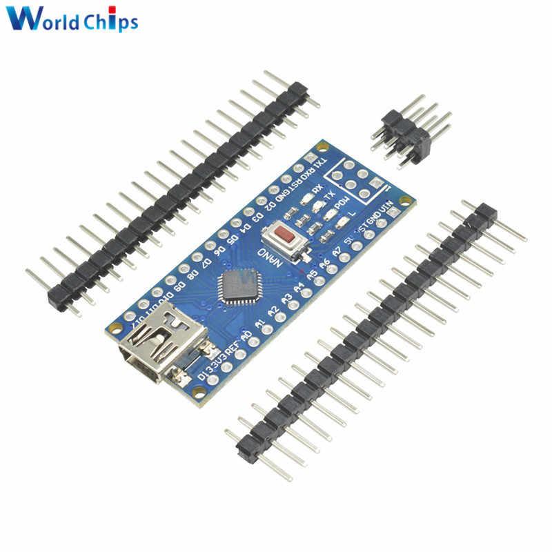 CH340g CH340 ATmega328 ATmega328P Nano V3.0 3.0 Mini USB pilote 5V 16M 16MHZ Micro contrôleur carte pour Arduino Module Usb câble