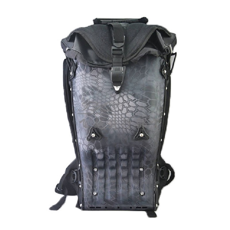 Moto équitation sac à dos étanche ABS coquille dure moto extérieur multifonctionnel sacs à dos