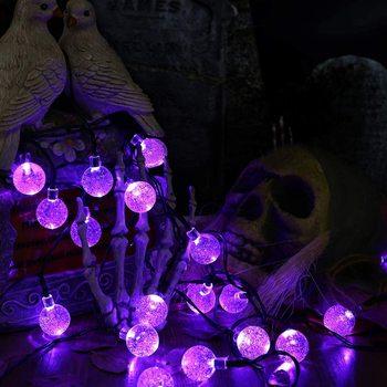 Led Fairy Lichter Gypsophila Blase Ball Lampe Urlaub Beleuchtung Batterie USB Power Girlande Innen Für Weihnachten Hochzeit Dekorationen