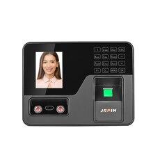 """Биометрическое устройство для считывания отпечатков пальцев 2,"""" TFT ЖК-дисплей usb-устройство для считывания отпечатков пальцев система посещаемости работник проверка-в рекордер"""