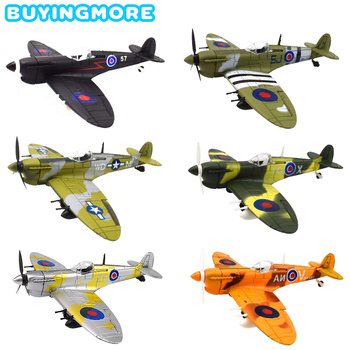 1 PCS Intercepting Fighter 4D Model Kit Toys for Boys Handmade Assembly Aircraft Plastic Model Toys Decoration Collection Gifts 1
