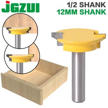 """Drawer Front Joint Router Bit - Reversible - 1/2"""" Shank 12mm Shank Woodworking Chisel Cutter"""
