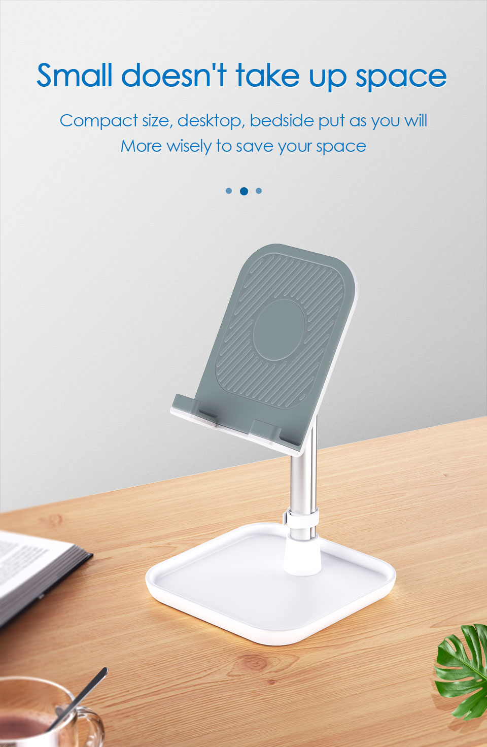 Mobile Phone Stand Holder for iPhone iPad Air Smartphone Metal Desk Desktop Phone Mount Holder for Xiaomi Huawei Tablet (14)