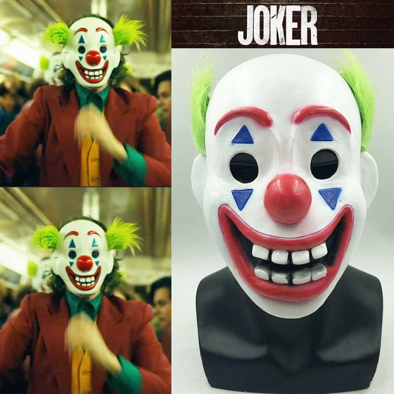 2019 New Joker Arthur Fleck Mask Latex Stephen King It