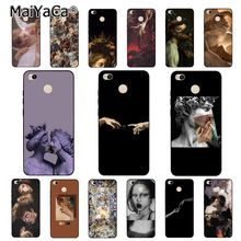 MaiYaCa Vintage Plaster Statue David aesthetic Art Phone Case for