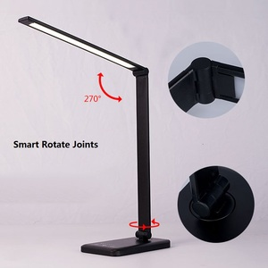 Image 5 - 52pcs 2835 LED Desk Lamp Foldable Dimmable Rotatable Eye Care LED Touch Sensitive Controller USB Charging Port Table Lamp