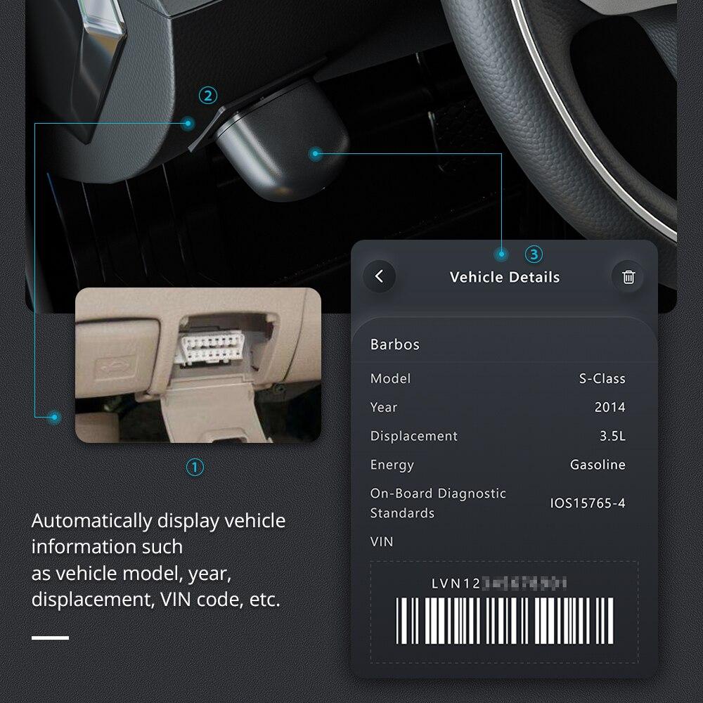 סורק תקלות XTOOL Bluetooth 3