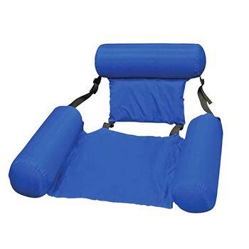 PVC lato nadmuchiwane składane pływające wiersz plaża sporty wodne dmuchany fotel łóżko XXUF tanie i dobre opinie OOTDTY CN (pochodzenie) Nadmuchiwane Pływających Wiersz XXUF9FF401209