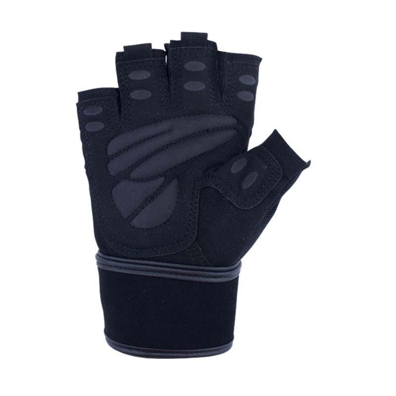 Fitness Half Finger Breathable Non-slip Gloves Weightlifting Hand Dumbbell Equipment Training Wrist Gloves