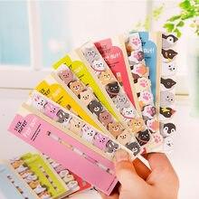 Kawaii Animais Memo Pad Sticky Notes Bookmarks Criativo Bonito Índice Postou Planejador Papelaria Escolar Suprimentos de Papel Autocolantes