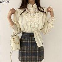 Винтажная блуза с ажурными элементами Цена 1135 руб. ($14.36) | 1 заказ Посмотреть